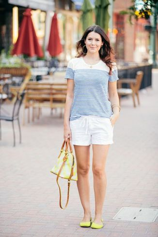 Shorts + Stripes