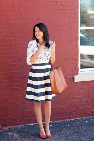 Polka Dots + Stripes