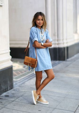 Powder Blue + Chambray