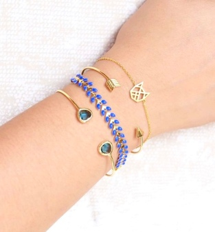 Gold + Blue Stack